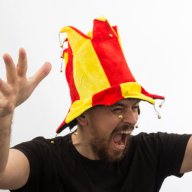 Bobo Hat with 14 Bells Flag of Spain