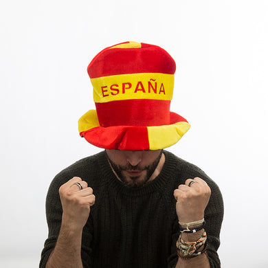 I Love Spain hat with Spanish flag