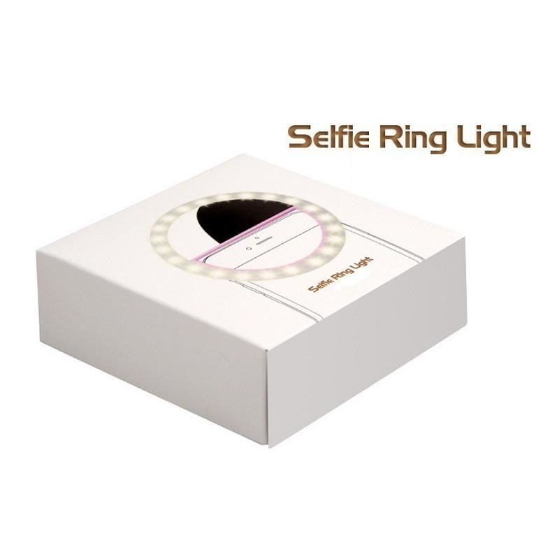 Light Ring for Selfies med mobiltelefon eller USB Pad NAcloset
