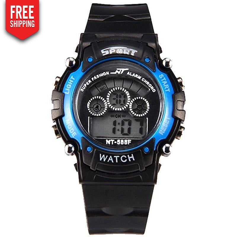 Digital Wrist Watch for Men with Sports Type Led