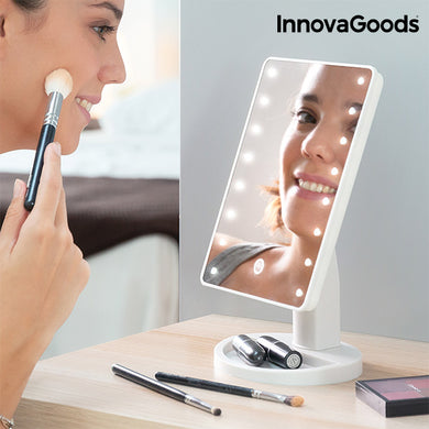InnovaGoods LED Touch Desk Mirror