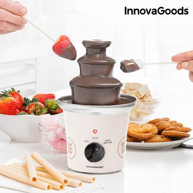 Sweet & Pop Times Chocolate Fountain InnovaGoods 70W White Steel