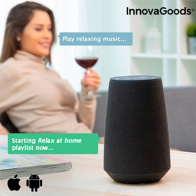 Smart Bluetooth Speaker Voice Assistant VASS InnovaGoods
