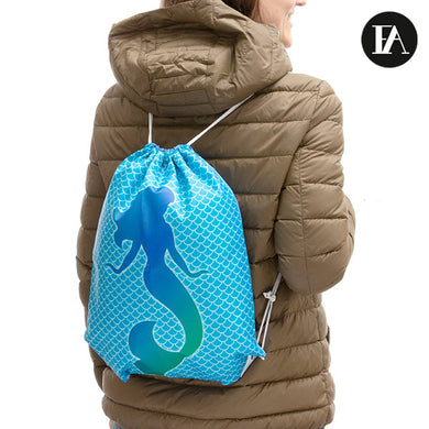 Sirena Fashinalizer Backpack with String Bag