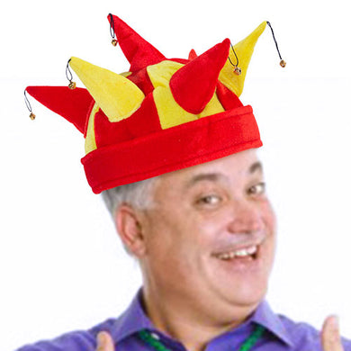 Jester hat with 7 bells Spanish flag