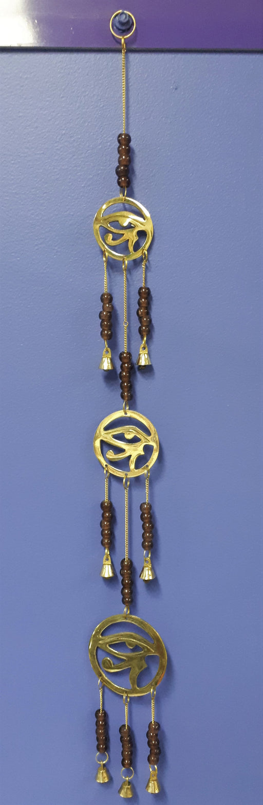 Eye of Horus 3 Tier Brass Chime