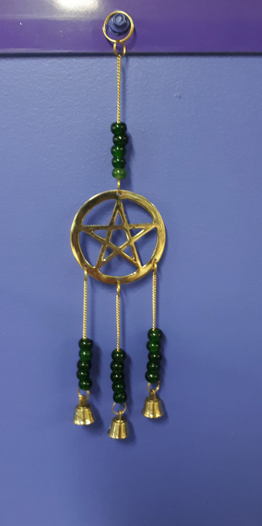 Pentagram Brass Chime