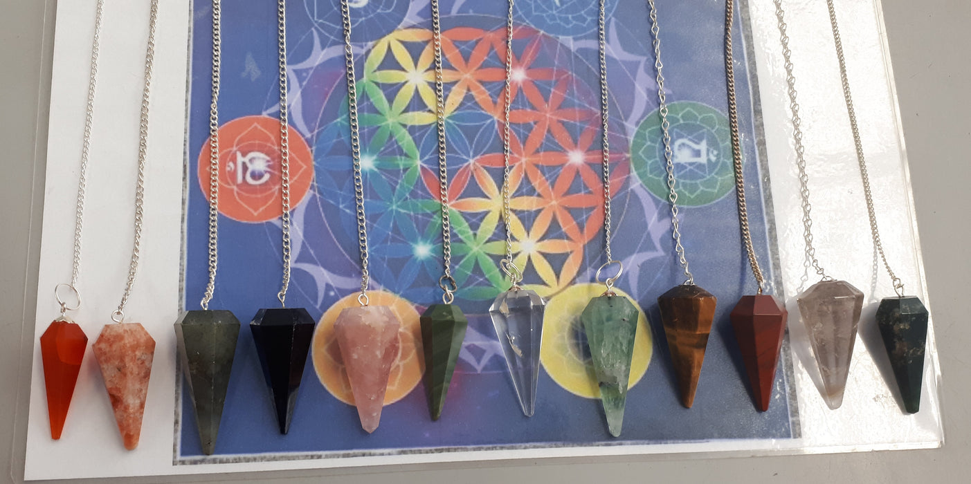 Assorted Crystal Pendulums
