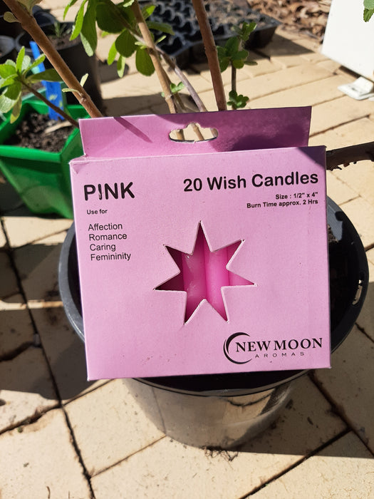 Pack of 20 Wish Candles