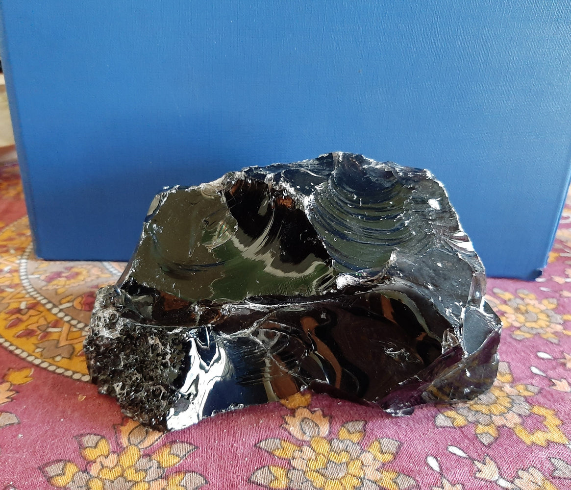 Large Black Obsidian