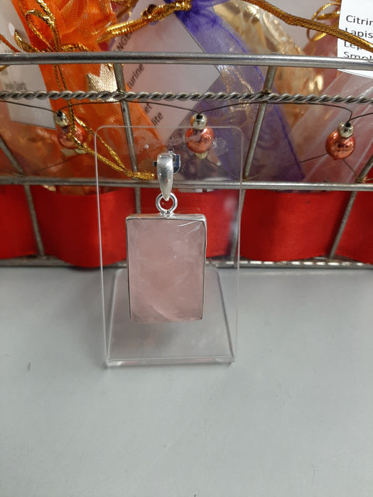 Rose Quartz Sterling Silver Jewellery