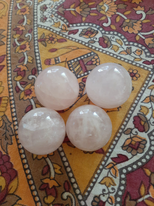 Rose Quartz Spheres- small