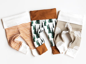 O R G A N I C leggings - Forest Trees