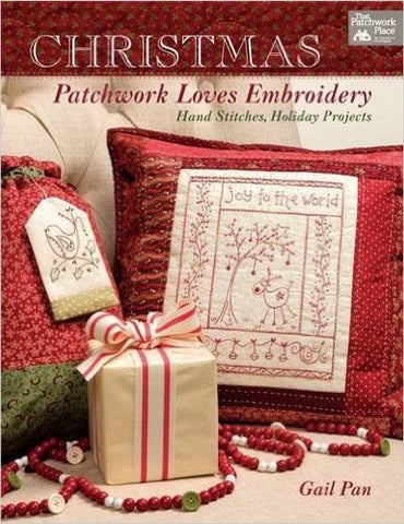 Gail Pan-Christmas Patchwork Loves Embroidery