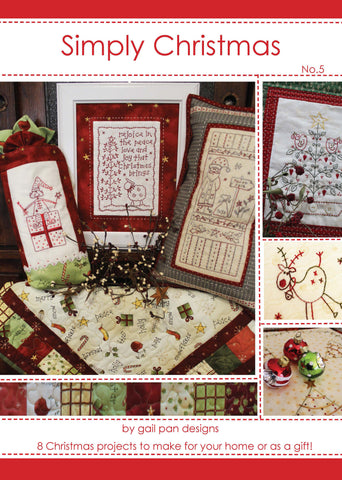Gail Pan-Simply Christmas No 5 Book