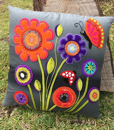 Wendy Williams - Baby Blooms Cushion
