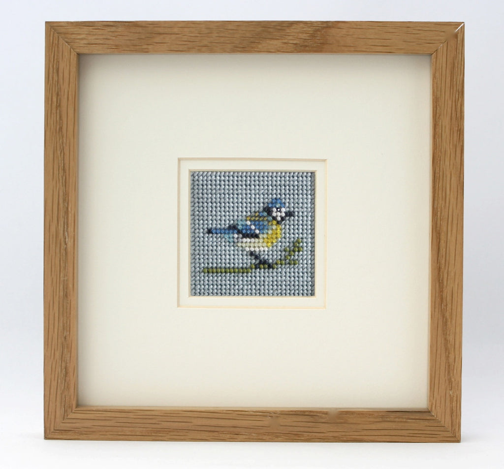 Ann's Orchard-Blue Tit Beadwork kit