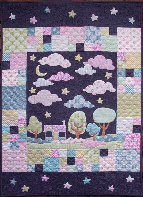Matching Pegs-Hush Quilt