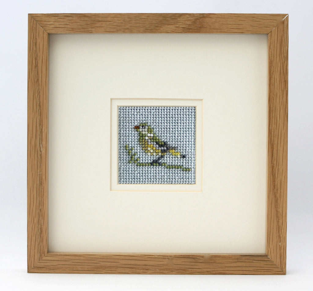 Ann's Orchard-Greenfinch Beadwork kit