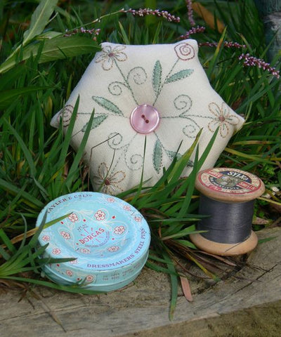 Gail Pan-Cottage Flower Pincushion