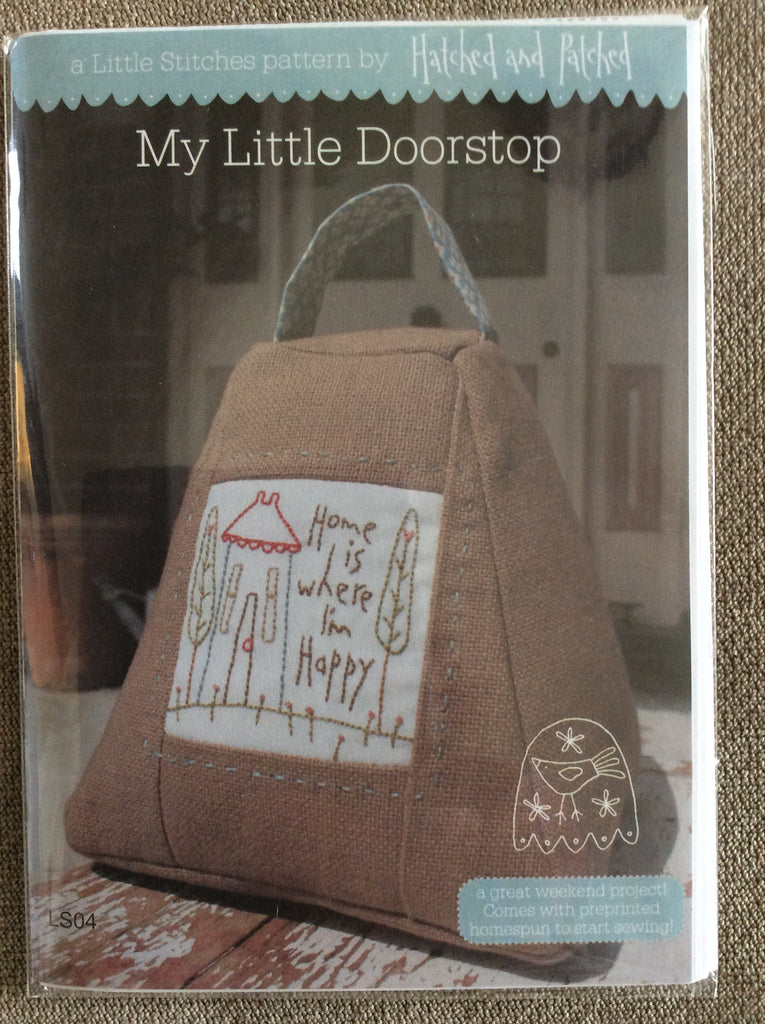 Hatched and Patched - My Little Doorstep