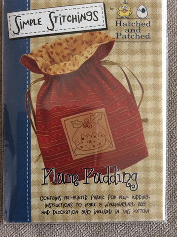 Hatched and Patched - Plum Pudding