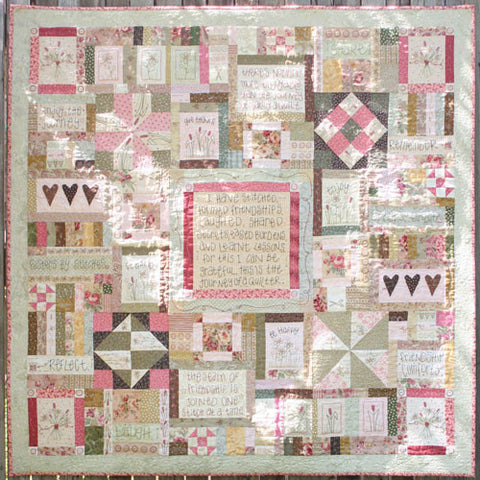 Leanne's House-Journey of a Quilter-Pattern Set