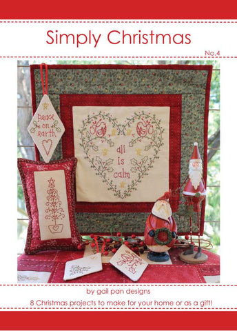 Gail Pan-Simply Christmas no. 4 Book