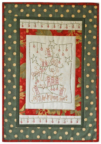 Cinderberry Stitches - Christmas Mice