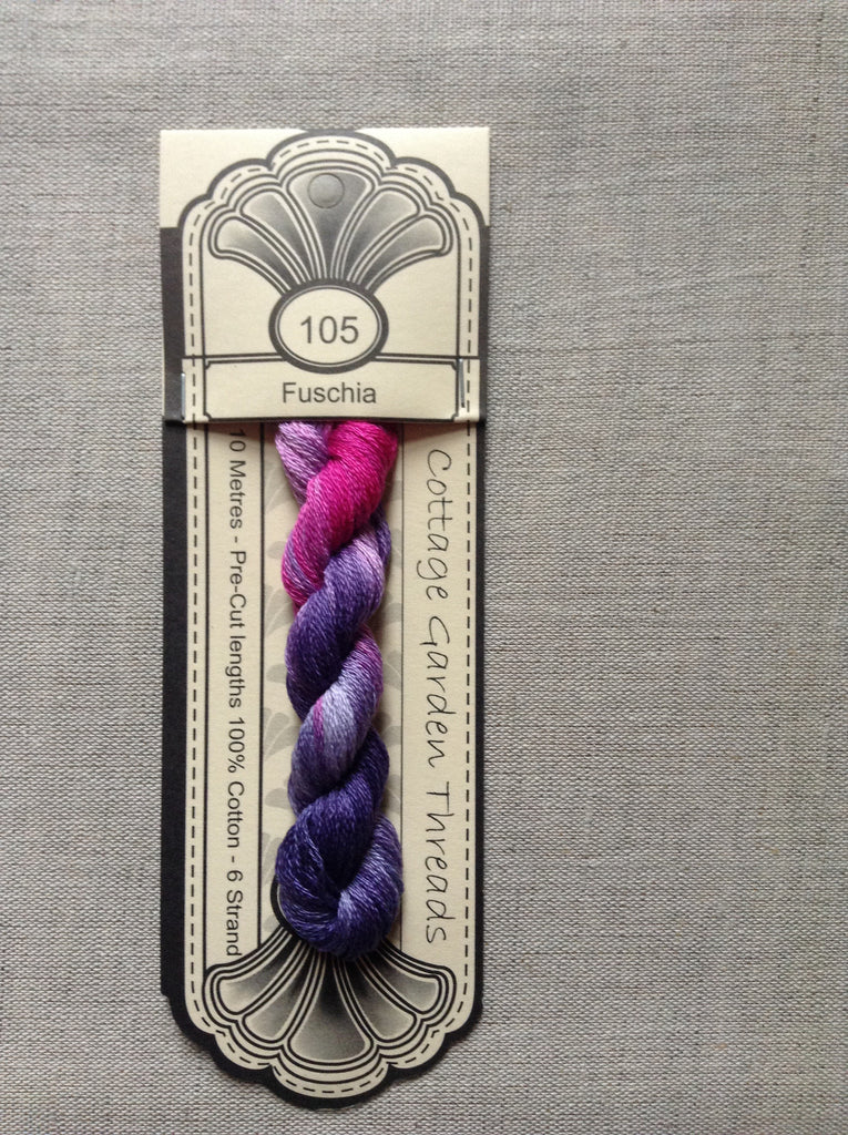 Cottage Garden Thread-Fuschia