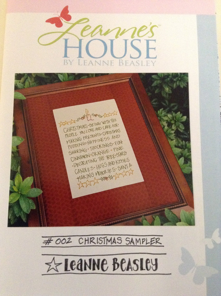 Leanne's House-Christmas Sampler