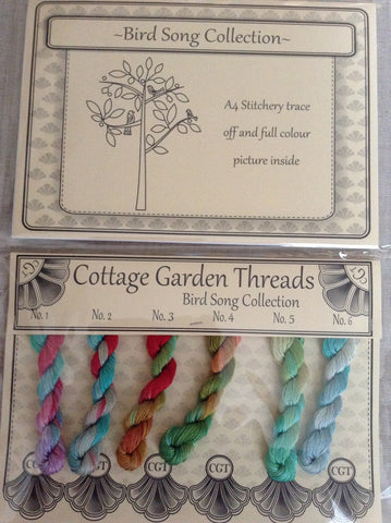 Cottage Garden Threads-Bird Song Collection