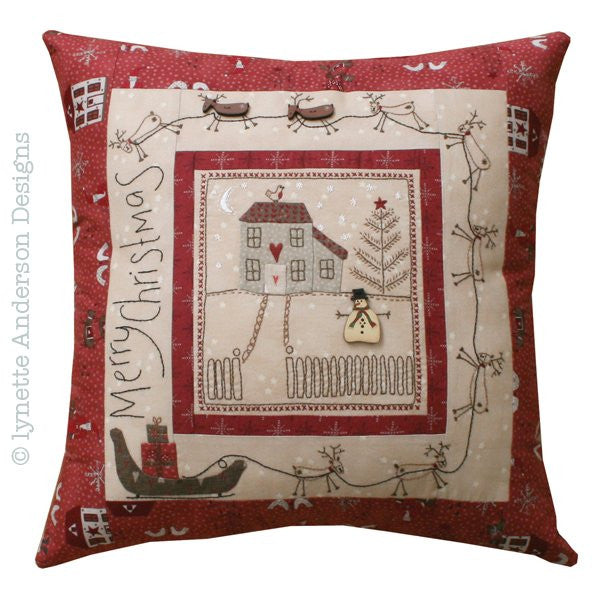 Lynette Anderson-Christmas Eve Pillow