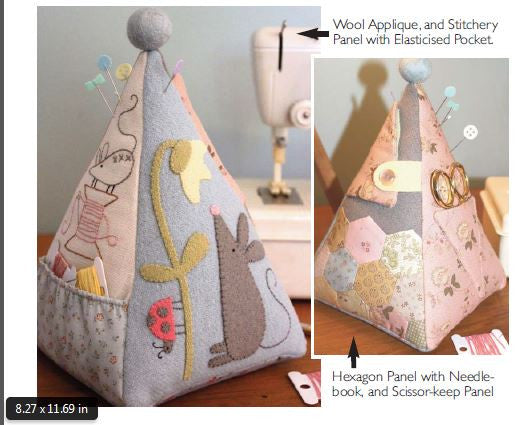 The Birdhouse - Mouse Pincushion