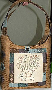 The Birdhouse - Prairie Flower Bag