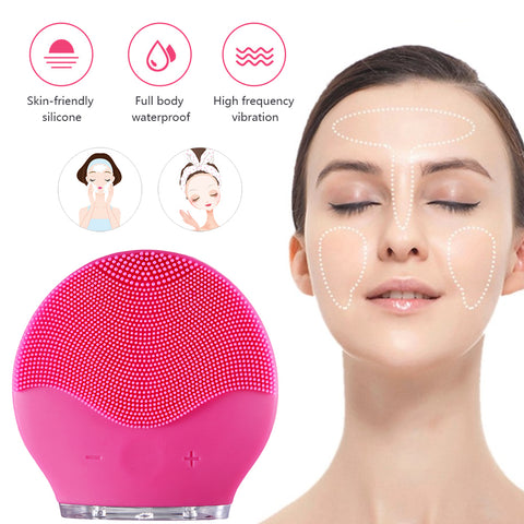 Amazing Sonic Vibration Facial Cleanser- Deep Pore Cleaning