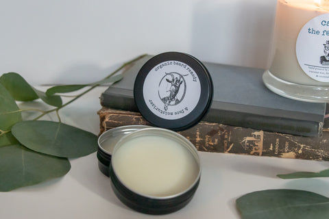 Organic Beard balm and face moisturizer