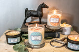 Eat. Sleep. Ride. Repeat.   Equestrian Candle