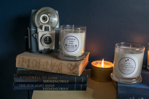 Namast'ay home with the Dog    12 ounce candle