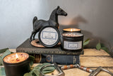 Live. Love. Ride.     Equestrian Candle