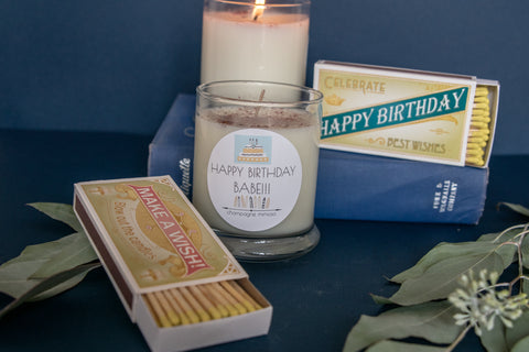 The perfect birthday candle!