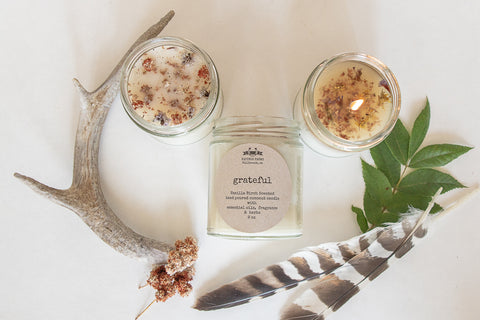 Grateful.   Vanilla Birch Candle