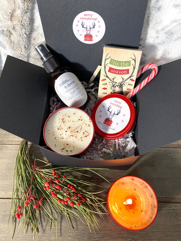 Keep Calm and Merry On - gift box
