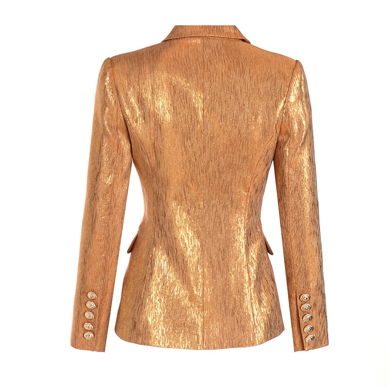 Luxury Gold Blazer