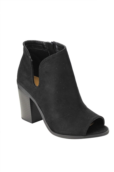 The Janel Bootie [BLACK] - FINAL SALE