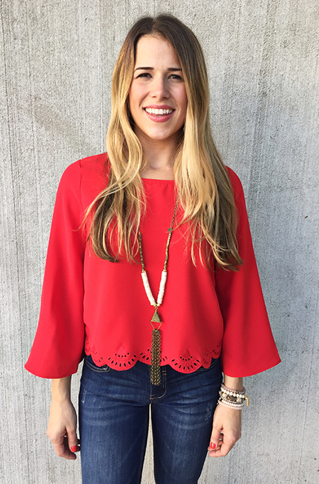 The Brenna Top - FINAL SALE