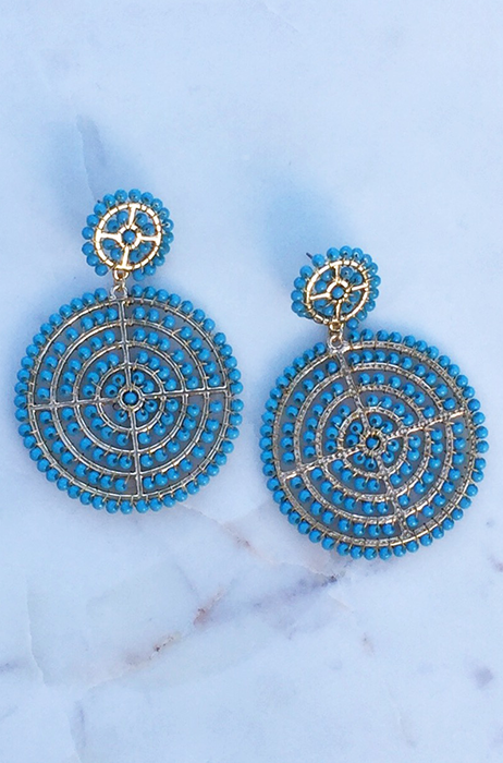 The Carley Earrings [TURQUOISE]