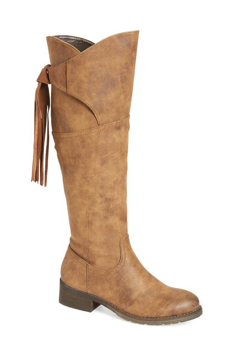 The Geneva Fringe Boot - FINAL SALE