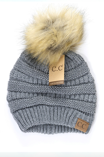 The CC Pom Pom Beanie - FINAL SALE