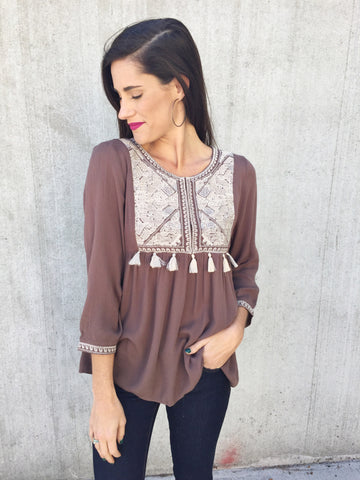 The Kourtney Top [MOCHA]